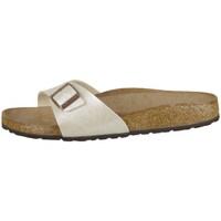 Pantofi Femei Papuci de vară Birkenstock Madrid Crem