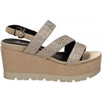 Pantofi Femei Sandale  Luciano Barachini CAMOSCIO naturale