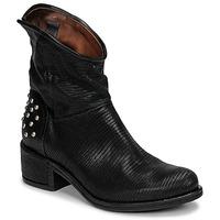 Pantofi Femei Ghete Airstep / A.S.98 OPEA STUDS Negru