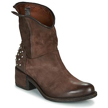 Pantofi Femei Ghete Airstep / A.S.98 OPEA STUDS Maro