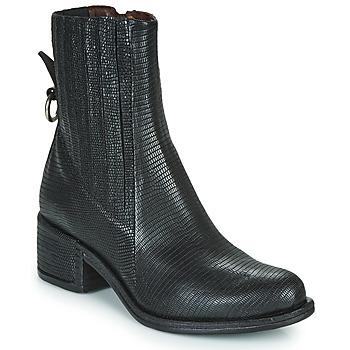 Pantofi Femei Ghete Airstep / A.S.98 OPEA CHELS Negru