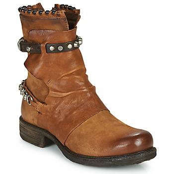 Pantofi Femei Ghete Airstep / A.S.98 SAINT 14 Maro