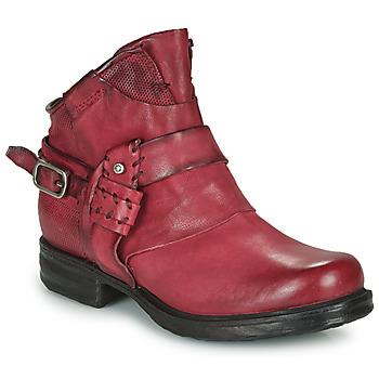 Pantofi Femei Ghete Airstep / A.S.98 SAINT EC STRAPE Bordo