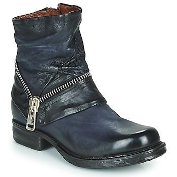 Pantofi Femei Ghete Airstep / A.S.98 SAINT EC ZIP NEW Albastru