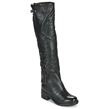 Pantofi Femei Cizme casual Airstep / A.S.98 NOVA 17 HIGH Negru