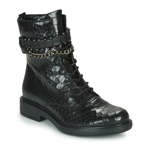 Pantofi Femei Ghete Mjus CAFE SNAKE Negru