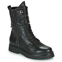 Pantofi Femei Ghete Mjus TRIPLE ZIP Negru