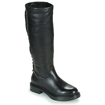 Pantofi Femei Cizme casual Mjus MORGANA HIGH Negru
