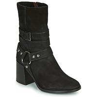 Pantofi Femei Botine Mjus TUA BUCKLE Negru