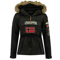 Îmbracaminte Băieți Geci Parka Geographical Norway BARMAN BOY Negru