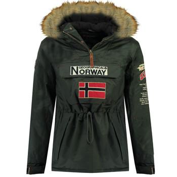 Îmbracaminte Băieți Geci Parka Geographical Norway BARMAN BOY Gri