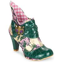 Pantofi Femei Botine Irregular Choice MIAOW Verde