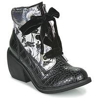 Pantofi Femei Ghete Irregular Choice SCARPER Negru