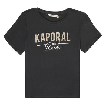 Îmbracaminte Fete Tricouri mânecă scurtă Kaporal MAPIK Negru