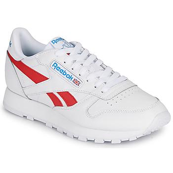 Pantofi Pantofi sport Casual Reebok Classic CL LTHR Alb / Roșu