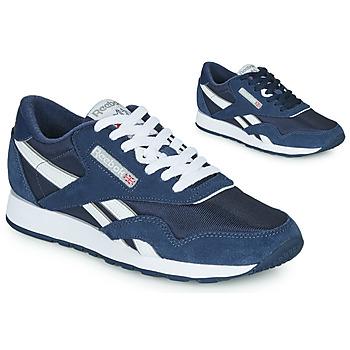 Pantofi Pantofi sport Casual Reebok Classic CL NYLON Bleumarin / Alb