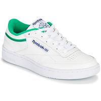 Pantofi Pantofi sport Casual Reebok Classic CLUB C 85 Alb / Verde