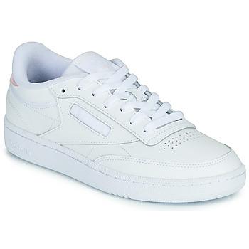 Pantofi Femei Pantofi sport Casual Reebok Classic CLUB C 85 Alb / Iridescent