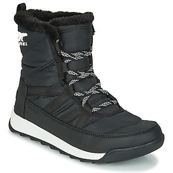 Pantofi Femei Ghete Sorel WHITNEY II SHORT LACE Negru