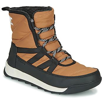 Pantofi Femei Ghete Sorel WHITNEY II SHORT LACE Maro