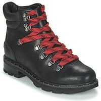 Pantofi Femei Ghete Sorel LENNOX HIKER Negru