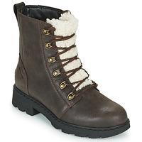 Pantofi Femei Ghete Sorel LENNOX LACE COZY Maro