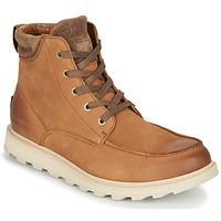 Pantofi Bărbați Ghete Sorel MADSON II MOC TOE WP Maro