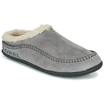 Pantofi Bărbați Papuci de casă Sorel LANNER RIDGE Gri