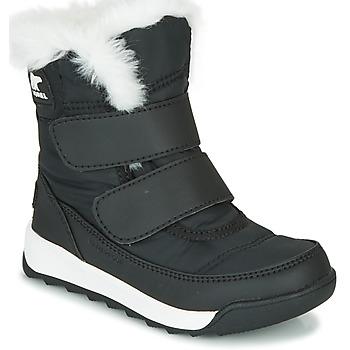 Pantofi Copii Ghete Sorel CHILDRENS WHITNEY II STRAP Negru
