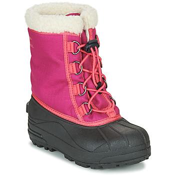 Pantofi Fete Cizme de zapadă Sorel YOUTH CUMBERLAND Roz