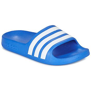 Pantofi Băieți Șlapi adidas Performance ADILETTE AQUA K Albastru / Alb
