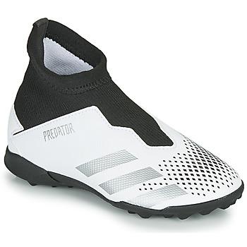 Pantofi Copii Fotbal adidas Performance PREDATOR 20.3 LL TF Alb
