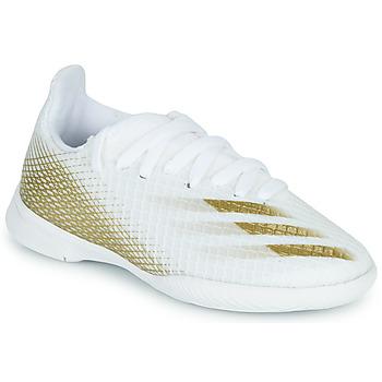 Pantofi Copii Fotbal adidas Performance X GHOSTED.3 IN J Alb