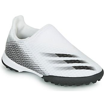 Pantofi Copii Fotbal adidas Performance X GHOSTED.3 LL TF J Alb