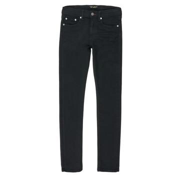 Îmbracaminte Băieți Jeans drepti Teddy Smith FLASH Negru