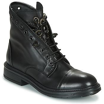 Pantofi Femei Ghete Fru.it ADIETE Negru