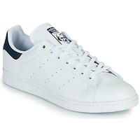 Pantofi Pantofi sport Casual adidas Originals STAN SMITH VEGAN Alb / Albastru