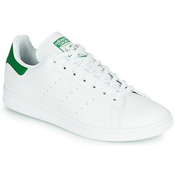 Pantofi Pantofi sport Casual adidas Originals STAN SMITH VEGAN Alb / Verde