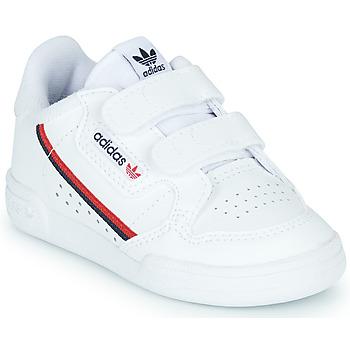 Pantofi Copii Pantofi sport Casual adidas Originals CONTINENTAL 80 CF I Alb