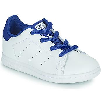 Pantofi Băieți Pantofi sport Casual adidas Originals STAN SMITH EL I Alb / Albastru