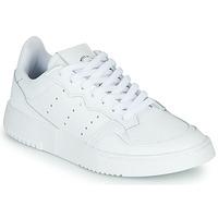 Pantofi Copii Pantofi sport Casual adidas Originals SUPERCOURT J Alb