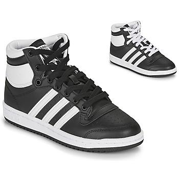 Pantofi Copii Pantofi sport stil gheata adidas Originals TOP TEN J Negru / Alb