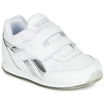 Pantofi Fete Pantofi sport Casual Reebok Classic REEBOK ROYAL CLJOG Alb / Argintiu