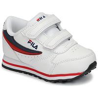 Pantofi Copii Pantofi sport Casual Fila ORBIT VELCRO INFANTS Alb / Albastru