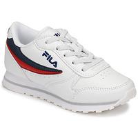Pantofi Copii Pantofi sport Casual Fila ORBIT LOW KIDS Alb / Albastru