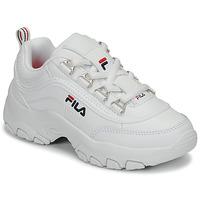 Pantofi Fete Pantofi sport Casual Fila STRADA LOW KIDS Alb