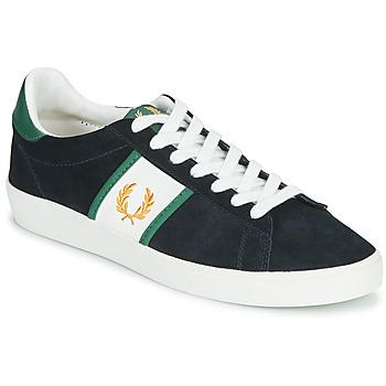 Pantofi Bărbați Pantofi sport Casual Fred Perry SPENCER SUEDE / TIPPING Albastru