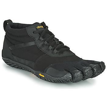 Pantofi Bărbați Trail și running Vibram Fivefingers TREK ASCENT INSULATED Negru / Negru