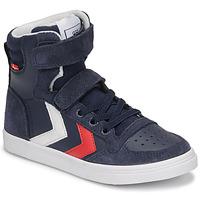 Pantofi Copii Pantofi sport stil gheata Hummel SLIMMER STADIL HIGH JR Albastru