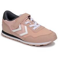 Pantofi Fete Pantofi sport Casual Hummel REFLEX JR Roz